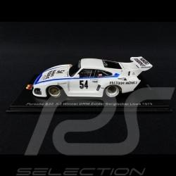 Porsche 935 K3 n° 54 Sieger DRM Zolder Bergischer Löwe 1979 1/43 Spark SG506