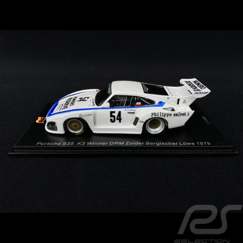 Porsche 935 K3 n° 54 Vainqueur Winner Sieger DRM Zolder Bergischer Löwe 1979 1/43 Spark SG506