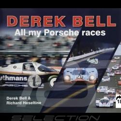 Buch Derek Bell - All my Porsche races