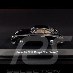 Porsche 356 pré A coupé Ferdinand 1950 black 1/43 Signature MAP01935217