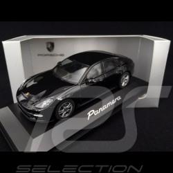 Porsche Panamera ph II 2016 black 1/43 Herpa WAP0207030G