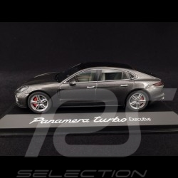 Porsche Panamera Turbo Executive 2016 gris quartz 1/43 Herpa WAP0207500G quartz grey quartzgrau