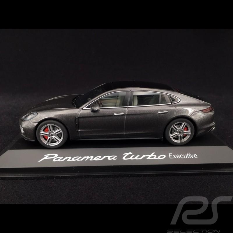 Porsche Panamera Turbo Executive 2016 gris quartz 1/43 Herpa WAP0207500G quartz grey quartzgrau
