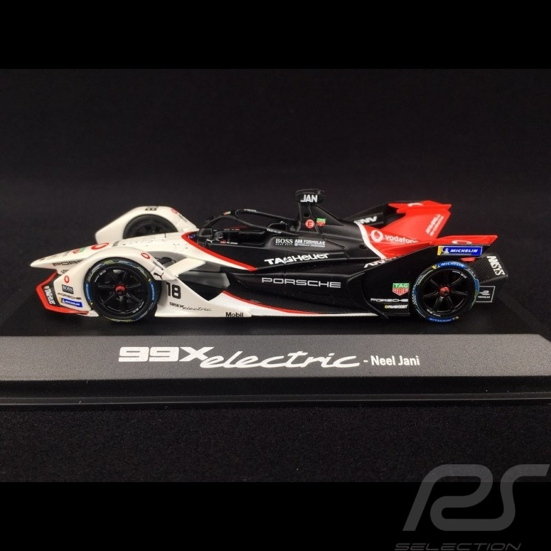 Porsche 99X Electric n° 18 Neel Jani Santiago ePrix 2020 1/43 Minichamps WAP0209310L