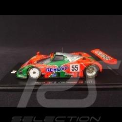 Mazda 787 B n° 55 Sieger Le Mans 1991 1/43 Spark 43LM91