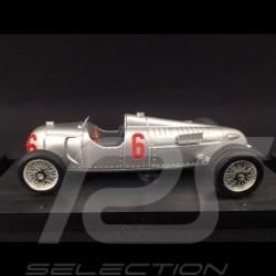 Auto Union typ C n° 6 1936 Zwillingsrad 1/43 Brumm R110