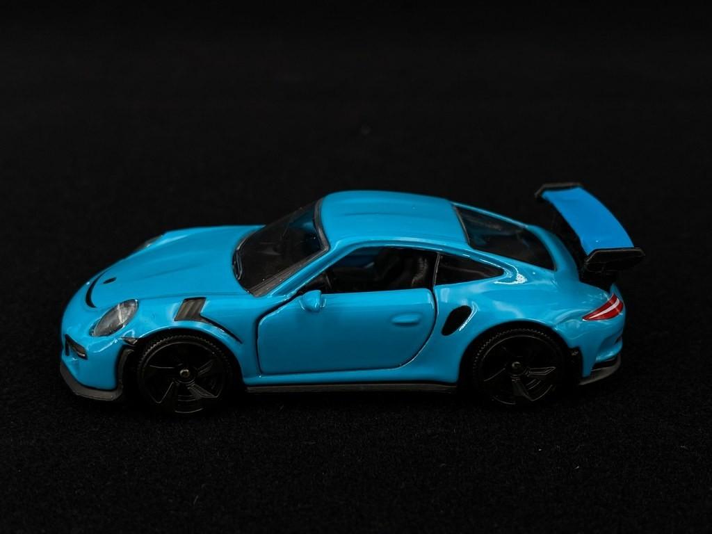 Porsche 911 Gt3 Rs Type 991 2015 Miami Blue 1 59 Majorette 212053052q18 Selection Rs