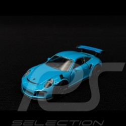 Porsche 911 GT3 RS type 991 2015  Miami blue 1/59 Majorette 212053052Q18