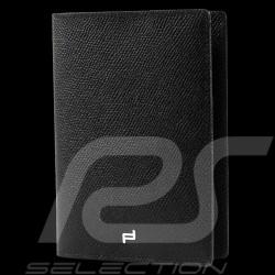 Etui passeport Porsche Design French Classic 3.0 Cuir noir Porsche Design 4090002161 passport holder Passhülle