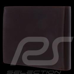 Porsche Design wallet H10 credit card holder 3 flaps Urban Courier Dark brown leather Porsche Design 4090002696