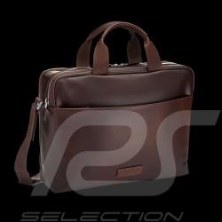 Porsche Design briefbag Urban Courier MHZ Dark brown leather Porsche Design 4090002629