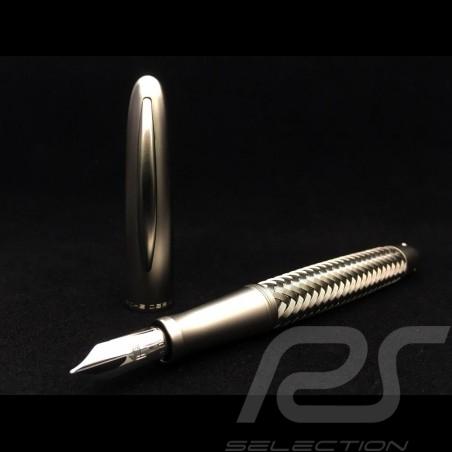 Porsche Design Tec Flex steel Fountain Pen P3110