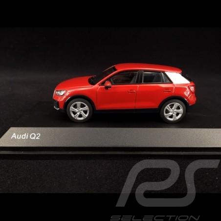 Audi Q2 2019 rouge Tango 1/43 iScale 5011602632 Tango red Tangorot