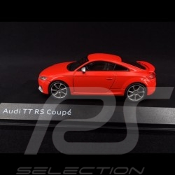 Audi TT RS Coupé 2017 Catalunya red 1/43 iScale 5011610431