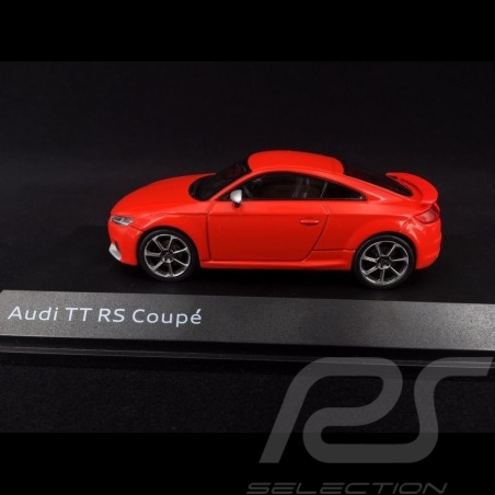 Audi TT RS Coupé 2017 rouge Catalogne 1/43 iScale 5011610431 Catalunya red Catalunyarot