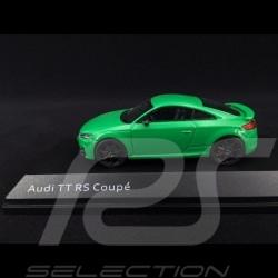 Audi TT RS Coupé 2017 vert 1/43 iScale 5011610432