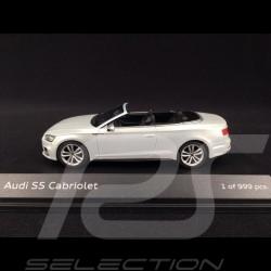 Audi S5 Cabriolet 2016 blanc Tofana 1/43 Paragon models 5011615331