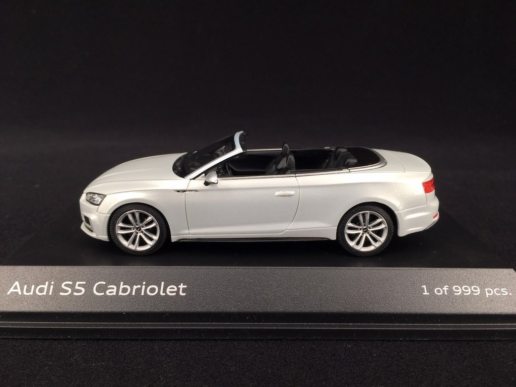 Audi S5 Cabriolet 2016 Tofana White 1 43 Paragon Models 5011615331 Selection Rs
