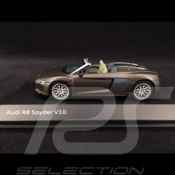 Audi R8 Spyder V10 2016 marron Argus 1/43 Herpa 5011618533