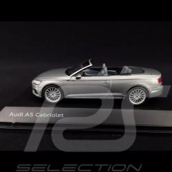 Audi A5 Cabriolet 2017 argent fleuret 1/43 Spark 5011705331