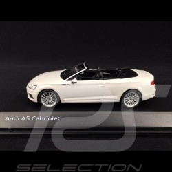 Audi A5 Cabriolet 2017 Tofana white 1/43 Spark 5011705332