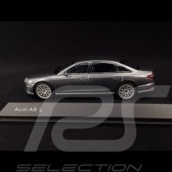Audi A8 L Limousine 2017 gris Mousson 1/43 iScale 5011708131