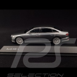 Audi A8 L Limousine 2017 Monsoon grey 1/43 iScale 5011708131