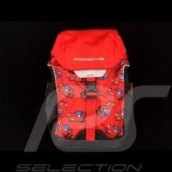 Sac Porsche à dos Enfant léger et résistant Noir / rouge / gris Porsche WAP0401030LKID Kid backpack Kinder rucksack