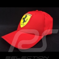 Ferrari cap crest emblem red