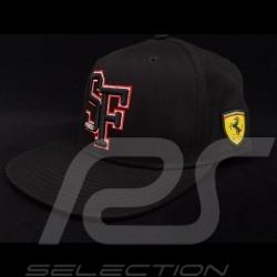 Casquette Ferrari logo Scuderia Ferrari noir