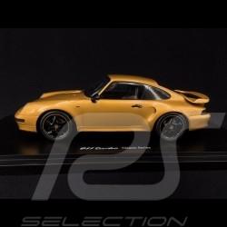 Porsche 911 Turbo S Project Gold type 993 Porsche Classic 1/18 Spark WAX02100993