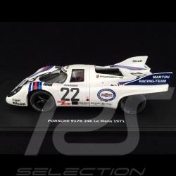 Porsche 917 K n° 22 Martini Racing Vainqueur Winner Sieger 24h du Mans 1971 1/43 Brumm R220