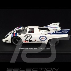 Porsche 917 K n° 22 Martini Racing Winner 24h du Mans 1971 1/43 Brumm R220