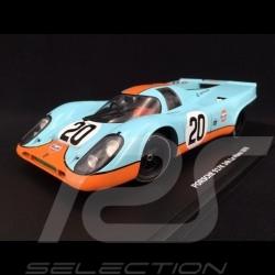 Porsche 917 K n° 20 Gulf Steve Mc Queen Siffert Le Mans 1970 1/18 CMR CMR127