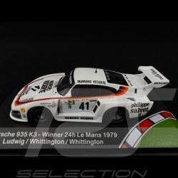 Porsche 935 K3 n° 41 Vainqueur Winner Sieger Le Mans 1979 1/43 CMR CMR43005