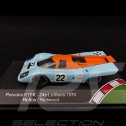 Porsche 917 K n° 22 Gulf  Le Mans 19701/43 CMR CMR43009