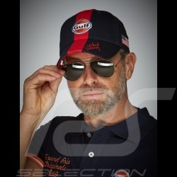 Cap Gulf Steve McQueen Le Mans marineblau - Herren