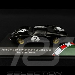 Ford GT40 Mk II n° 2 Vainqueur Winner Sieger Le Mans 1966 1/43 CMR CMR43054