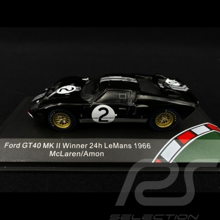 Ford GT40 Mk II n° 2 Sieger Le Mans 1966 1/43 CMR CMR43054