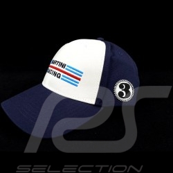 Casquette Cap Kappe Porsche Martini Racing collection n° 3 blanc / bleu Porsche WAP5500010LMRH
