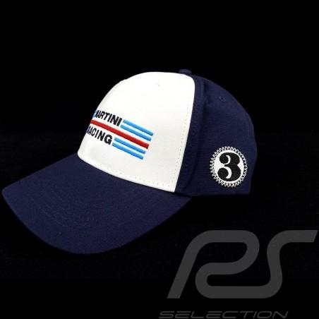 Casquette Cap Kappe Porsche Martini Racing collection n° 3 blanc / bleu Porsche WAP5500010LMRH