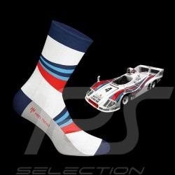 Chaussettes Martini 936 bleu / rouge / blanc mixte socks socken