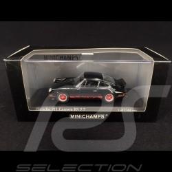 Porsche 911 Carrera RS 2.7 1972 noire/rouge black/red schwarz/Indischrot 1/43 Minichamps 400065521