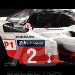 Porsche 919 Hybrid n° 2 Winner Le Mans 2017 1/12 Spark 12LM17