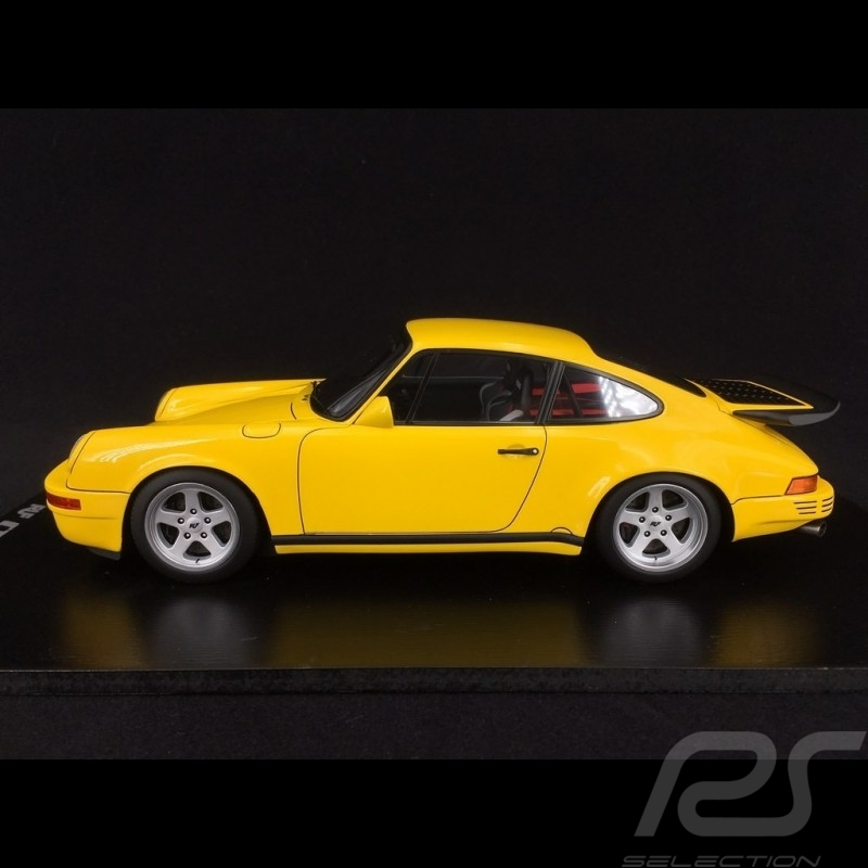 "Porsche 911 RUF CTR 1987 ""Yellow Bird"" speed yellow 1/18 Spark 18S256"