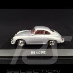 Porsche 356 A Coupé 1956 silver 1/43 Minichamps WAP020ST310