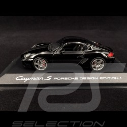 Porsche Cayman S Porsche Design Edition 1 2007 noir black schwarz 1/43 Minichamps 400065622