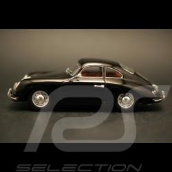 Porsche 356 Coupé Stuttgart 1954 noire black schwarz 1/43 Minichamps WAP020ST210
