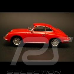 Porsche 356 B coupé 1959 rouge