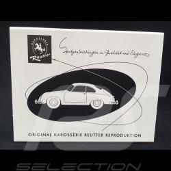Porsche 356 body plate Reutter 1954 - 1961